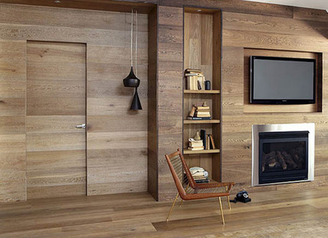 Wooden Wall Panelling and Wood Furniture, Eco Interior Design and Decor | Furniture Restoration | Scoop.it