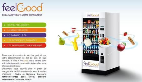 feelGood met de la diversité dans nos distributeurs automatiques !  | agro-media.fr | agro-media.fr | actualité agroalimentaire | Scoop.it