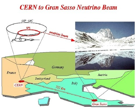 One Way Light Velocity Toward Gran Sasso | Planets, Stars, rockets and Space | Scoop.it