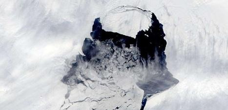 Une gigantesque crevasse en Antarctique accélère la fonte de la calotte polaire | Actualités Top | Scoop.it