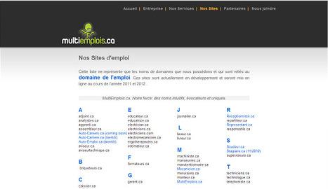 20 sites d'emploi québécois à découvrir | Recrutement, Emploi 2.0 | Scoop.it