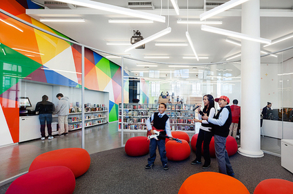"How To Design A Library For Teens: Bleachers, Snacks, And Wii | ""library design"" AND "" library architecture"" 