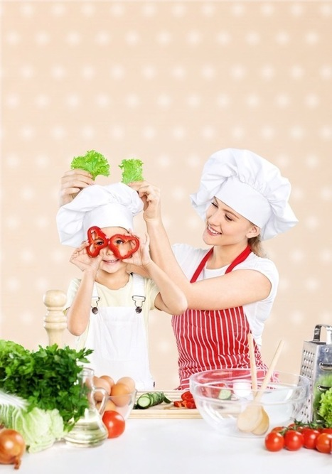 Kitchen Fun With Kids: Guide to Teaching Your Child to Cook | FOOD? HEALTH? DISEASE? NATURAL CURES??? | Scoop.it