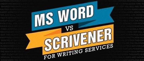 Ms Word vs. Scrivener for Writing Professionals | About Dissertation | Scoop.it
