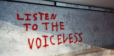 A voice for the voiceless: A skeptic's perspective on using technology to empower students | Learning  and Libraries | Scoop.it