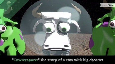 Cowterspace: More Than A Cute Cow in Space Video | Create and Communicate | Scoop.it