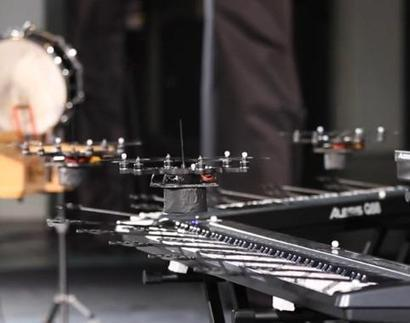 Hover Band: Flying Drones Play Classical Music Medley - NBCNews.com | StringsAttachedBook.com | Scoop.it