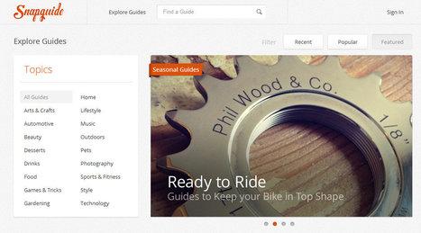 Snapguide: Crea tutoriales desde tu iPhone o iPad para verlos en la PC | Aplicaciones móviles: Android, IOS y otros.... | Scoop.it