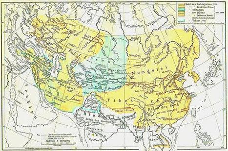 Machtige Mongoolse rijk werd mede mogelijk gemaakt door lekker weertje | KAP-VanRoyBrian | Scoop.it