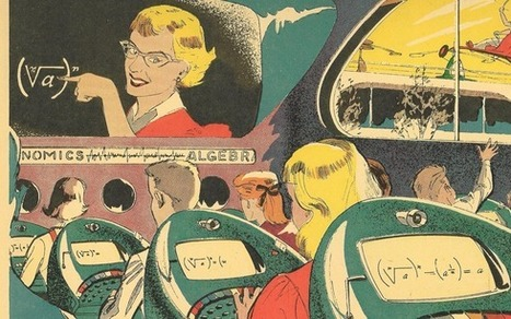 The Push-Button School of Tomorrow (1958) | FutureChronicles | Scoop.it