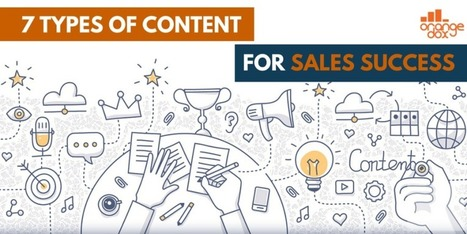 Content Marketing For Sales: 7 Must Have Content Types | Content Creation, Curation, Management | Scoop.it
