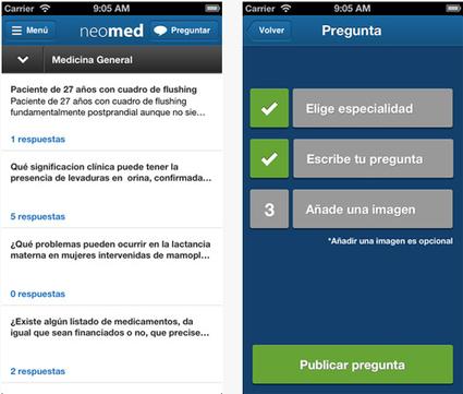 Los médicos ya tienen su propio Whatsapp: Neomed, un equipo de trabajo virtual | Comunicación en la medicina | Scoop.it