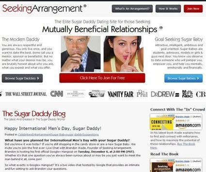 """""""Women love money, hate commitment!"""" says dating site for 'sugar daddies' 