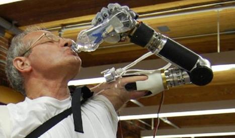 El brazo robótico LUKE llegará al mercado a finales de este año | eSalud Social Media | Scoop.it