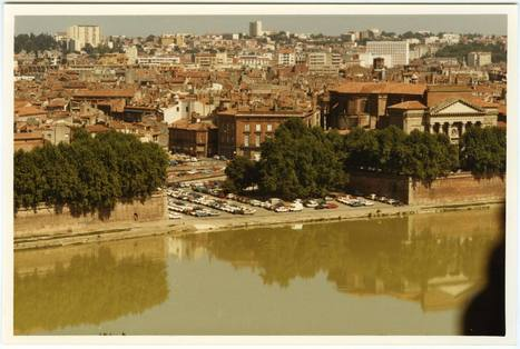 #JeudiArchives : Survol de la Garonne avec vue sur le port de la Daurade | Archives municipales de Toulouse | Scoop.it