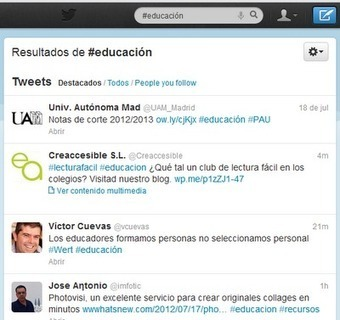 Primeros pasos en Twitter ~ Docente 2punto0 | EDUDIARI 2.0 DE jluisbloc | Scoop.it