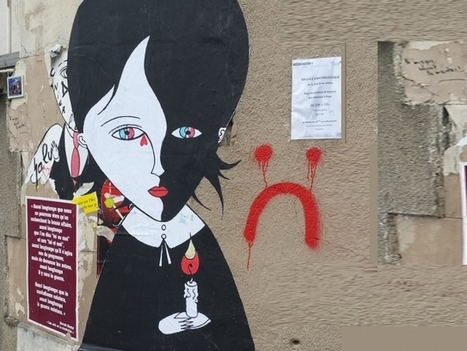 Après les attentats de Paris, le street-art pour afficher sa résistance - France Inter | Remue-méninges FLE | Scoop.it