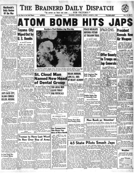 Hiroshima Bombing   GFSS Canadian History   Scoop.it