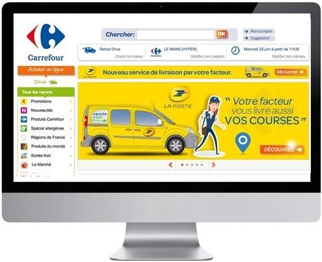Effervescence sur la livraison à domicile chez Carrefour   Innovation dans la distribution   Scoop.it