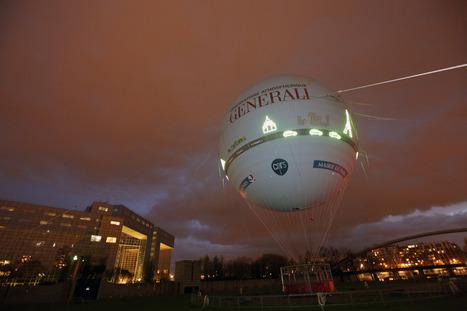 Paris : embarquez de nuit à bord du ballon Generali | Idées responsables à suivre & tendances de société | Scoop.it