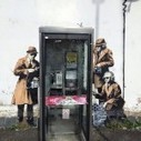 Banksy Strikes Again! Phonebooth Wiretapping Street Art Visual In England - stupidDOPE | Street Art & Graph | Scoop.it