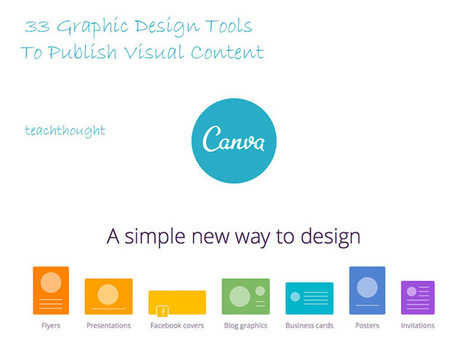 33 Graphic Design Tools To Publish Visual Content | Mediawijsheid in het HBO | Scoop.it