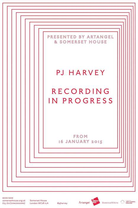Artist musician PJ Harvey records her 9th album at the Somerset House | Enhanced Music | Scoop.it