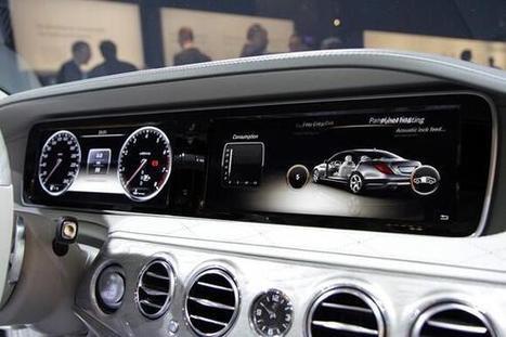 Twitter / SonAutos: El Mercedes Benz Clase S presume ... | Tecnologia | Scoop.it