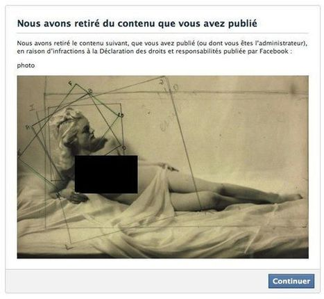 «Pour Facebook, c'est toujours le corps des femmes qui pose problème» | Archivance - Miscellanées | Scoop.it