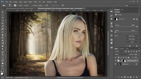 Dos técnicas para seleccionar-extraer cabello en Photoshop | Noticias y Recursos Social Media | Scoop.it