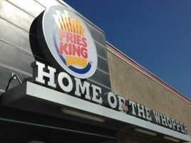 Burger King's Name Change to Fries King Is Making People Hungry and Confused | ESocial | Scoop.it
