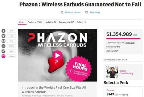 An Interview With Phazon CEO Chris Houle - Over $1,350,000 raised on the Indiegogo Platform | Smart Crowdfunding | Scoop.it