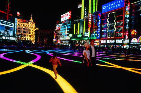 Twitter / iPhotografia: Nanjing Road en Shanghai, China. ... | Shanghai Images | Scoop.it