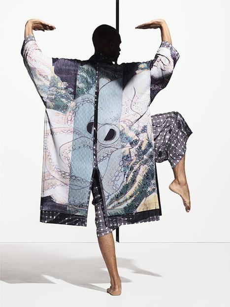 L'homme Plissé d'Issey Miyake s'encanaille - Fashion Spider - Fashion Spider – Mode, Haute Couture, Fashion Week & Night Show | fashion-spider mode | Scoop.it