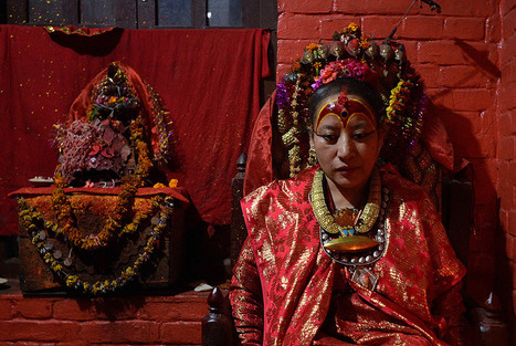 Nepal quake forces 'living goddess' Dhana Kumari Bajracharya to break decades of seclusion | Art Daily | Kiosque du monde : Asie | Scoop.it
