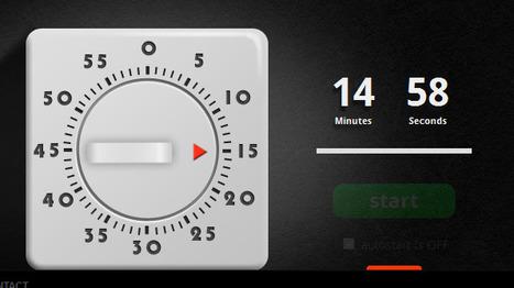 timerrr - Online Countdown Timer | Sharing Technology for Teachers | Scoop.it