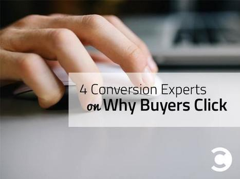 4 Conversion Experts on Why Buyers Click | Barry Feldman | Public Relations & Social Media Insight | Scoop.it