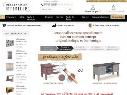 Déclinaison intérieur, personnalisez vos meubles | Annuaire SeObjectif | Scoop.it