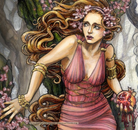 The Myth of Persephone - Greek Goddess of the Underworld | Depth Psych | Scoop.it