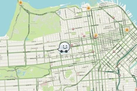 Waze devient une appli de covoiturage | Applications Iphone, Ipad, Android et avec un zeste de news | Scoop.it