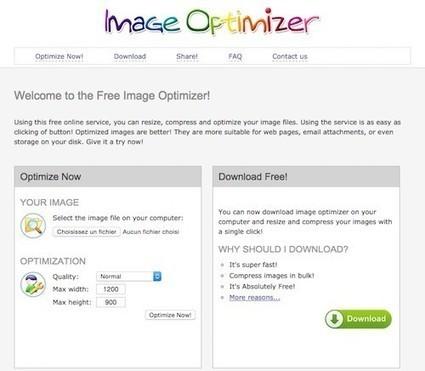 5 services en ligne gratuits pour optimiser et compresser les images (sans perte de qualité) | Outils de veille & Curation tools | Scoop.it