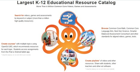 OpenEd - Largest K-12 OER. Quarter Million Common Core Videos and Games. | Literacy | Scoop.it