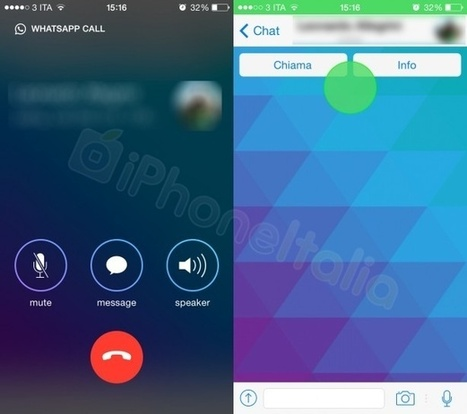 Screenshots van WhatsApp-versie met voip-functie duiken op | ten Hagen on Social Media | Scoop.it