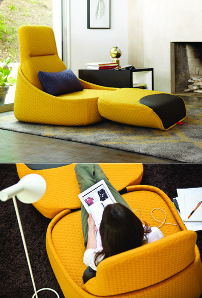"""@Coalesse's New """"Relaxed Work"""" Hosu Seating by Patricia Urquiola 