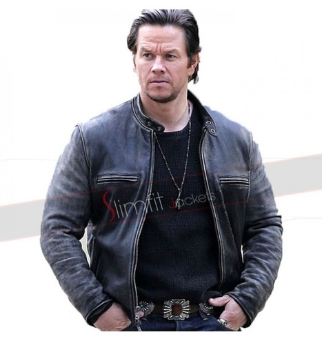 Mark Wahlberg Daddys Home Distressed Jacket | Replica Movies Leather Jackets | Scoop.it