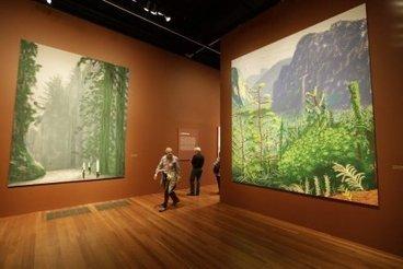 David Hockney expose ses oeuvres créées sur iPad | Martha Mendoza | Arts visuels | Du numérique dans et pour la culture | Scoop.it