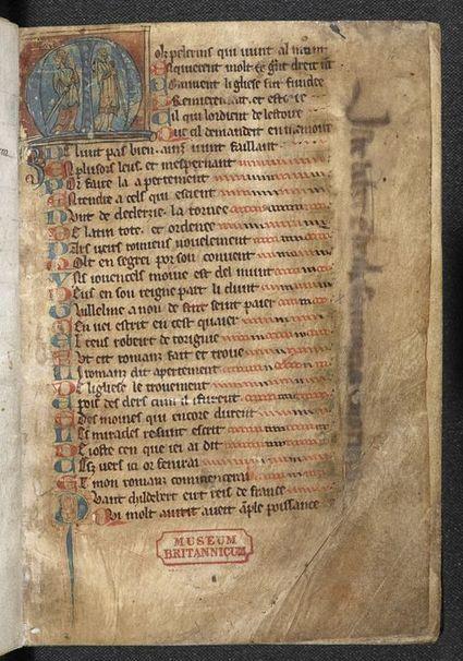 The Romance of Mont Saint-Michel - Medieval manuscripts blog   Medieval Manuscripts   Medieval Palaeography   Scoop.it
