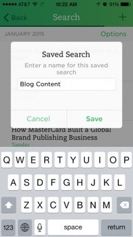 How to Save Searches Everywhere you Use Evernote | Evernote, gestion de l'information numérique | Scoop.it