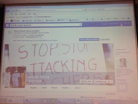 Twitter / tweetingteach: Don't forget to add us as a ... | NUT South East Young Teachers Conference 2013 | Scoop.it