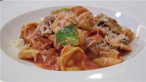 Recipe: Cheese Tortellini with Italian Sausage Tomato Vodka Sauce and ... - NY1 | recipes | Scoop.it